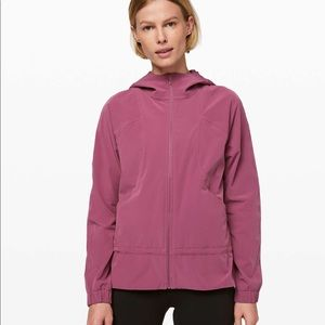 Lululemon Pack It Up Rain Jacket in Plumful
